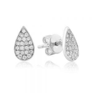 Waterford Crystal Small Pearl Stud