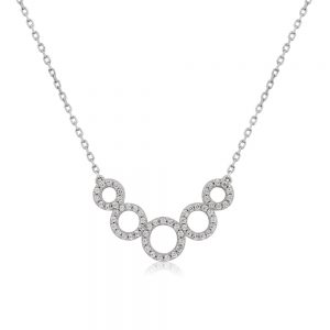 Waterford Silver Circle Pendant