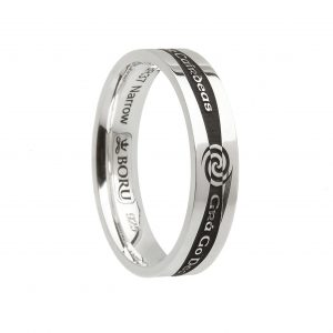 Boru Narrow Promise Ring