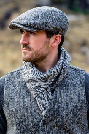 Mucros Donegal Tweed Scarf dt12