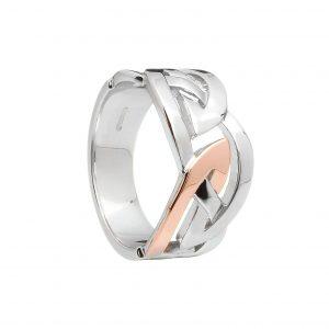 House Of Lor Men's Celtic Design Ring