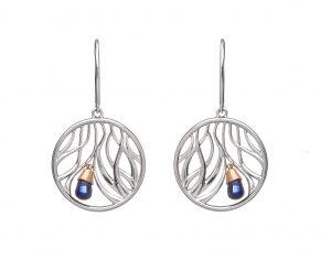 House of Lor Wishing Tree Sapphire Earrings
