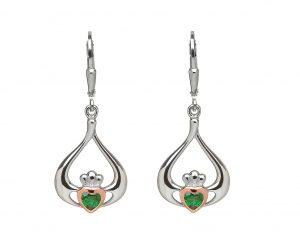 House of Lor Claddagh Drop Earrings