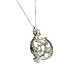 Children Of Lir Long Chain Necklace