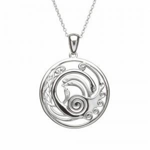 Children Of Lir Medium Celtic Pendant