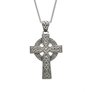 Gents Large Double Sided Celtic Cross