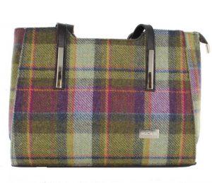 Mucros Multi Color Tweed Bag