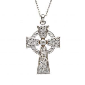 Boru Silver Cross Celtic Warrior