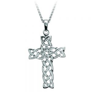 Boru Filigree Celtic Knot Cross