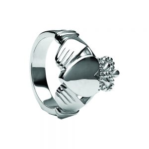 Boru Extra Heavy Large Gents Claddagh Ring