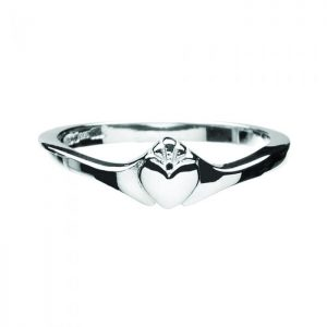 Boru Contemporary Ladies Claddagh Ring