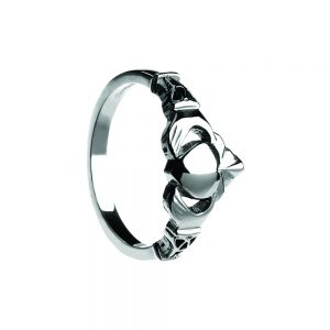 Boru Gents Trinity Claddagh Ring