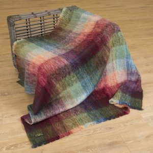 Large Irish Mohair Blanket John Hanly lm502