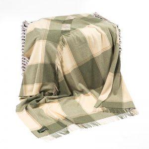 Lambswool Irish Blanket John Hanly 647