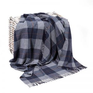 John Hanly Lambswool Blanket Throw