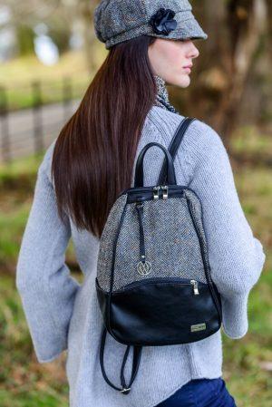 Mucros Gray Colleen Backpack Bag