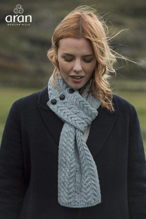 Aran Loop Scarf Merino Wool