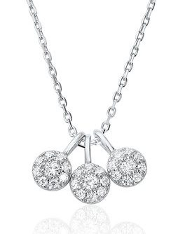 Waterford Crystal Sterling Silver Pendant