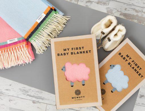 mcnutt baby blanket box