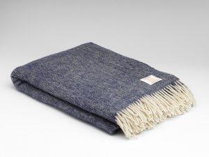 McNutt Midnight Herringbone Blanket