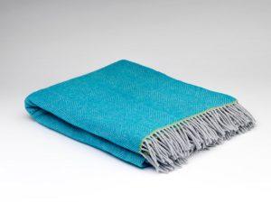 McNutt Belle Herringbone Blanket Throw
