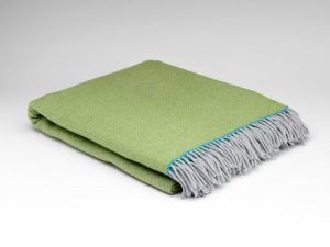 McNutt Maddie Herringbone Blanket Throw
