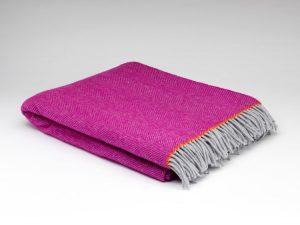 McNutt Mabel Herringbone Blanket Throw