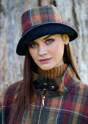 Mucros Orange Rust Clodagh Hat