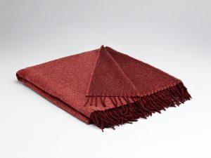 Mcnutt Hot Coral Reversible Blanket