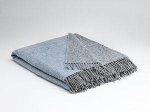 Mcnutt Starlight Blue Reversible Blanket