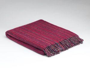 McNuttFuchsia Tweed Blanket