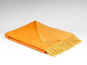 McNuttOrange & Mustard Reversible Supersoft Blanket
