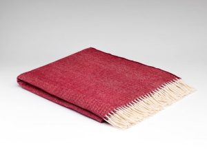 McNuttSpotted Cranberry Supersoft Blanket