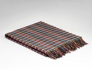 McNutt Scuba Blue Mini Check Blanket