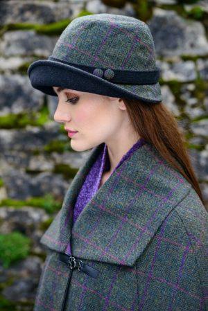 Mucros Green Clodagh Hat