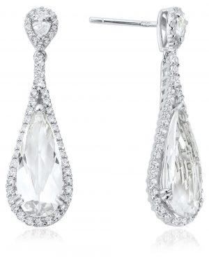 Waterford Pear Drop Earrings