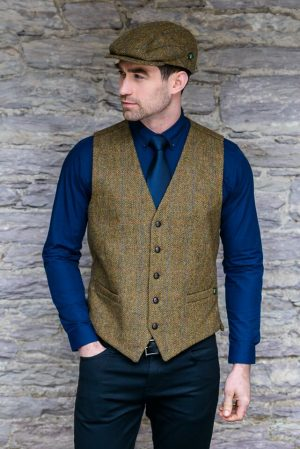 Mucros Brown Waistcoat