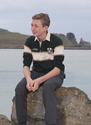 Kids Ireland Long Sleeve Rugby Shirt