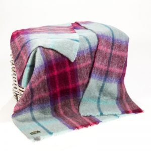 John Hanly Multi Color Throw
