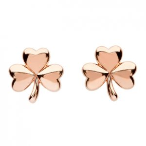 Shanore Shamrock Rose Stud Earrings