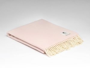 McNuttCandy Floss Herringbone Blanket