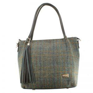 Mucros Green Check Erin bag