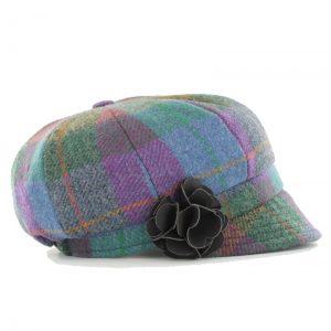 Mucros Ladies Newsboy hat