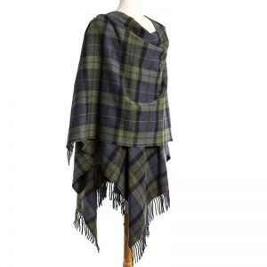 John Hanly Green Navy Liz Cape 625