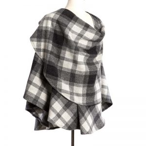 John Hanly Gray Check Sue Cape 705