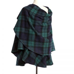 John Hanly Navy Green Sue Cape