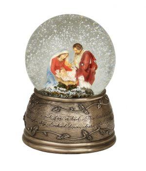 Genesis Holy Family Snow Globe SS020