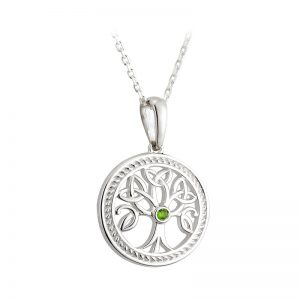 Solvar Sterling Silver Small Tree Of Life Pendant S45365