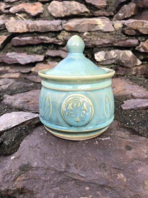 Colm De Ris Green Sugar bowl