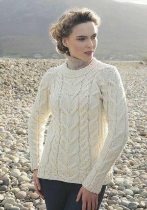 Aran Woollen Mills Raglan Sweater